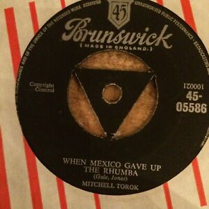 HEAR  1956 COUNTRY BOPPERS - MITCHELL TOROK - MEXICO GAVE UP THE RHUMBA -UK TRI