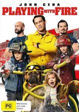 Playing With Fire (Dvd) John Cena Kids Wwe Department Toy Ufc Keegan wick dog X