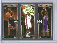 Lebron James-Chris Bosh-Dwyane Wade 03/04 Topps Matrix Rookie