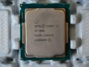 INTEL Core i5 7600 Quad Core @ 3.50Ghz CPU Processor Socket 1151