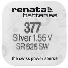 Renata 377 SR626SW Watch Batteries Silver