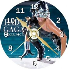 Lady Gaga Poker Face Cd Clock Can be personalised