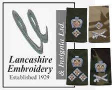 Pair Parachute Regiment LIEUTENANT General Rank Slides