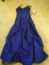 NWT Blondie Nights Strapless Evening Gown/Prom Blue 5