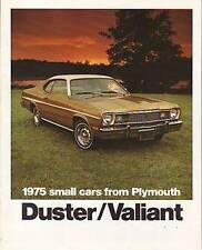 1975 Plymouth Duster/Valiant Sales Catalog new - dealer