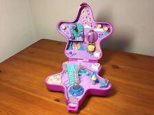 Vintage Polly Pocket Pink Light-Up Fairy Star Compact Bluebird 1993 (no lights)