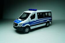 Mercedes Benz Sprinter Traveliner Police Scale 1:50 Welly Diecast car model bus