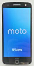 Motorola Moto Z Force Droid XT1650M 32GB  Black Lunar Grey Verizon Fair Shape