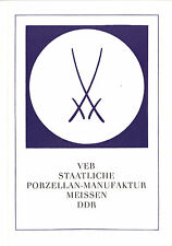 VEB Staatliche Porzellan-Manufaktur, Meissen DDR, 1970
