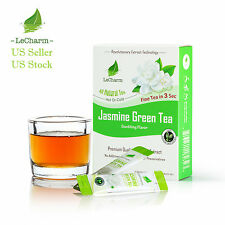Premium 100% Natural Jasmine Organic Green Tea Extract Sugar Free (10 Sachests)