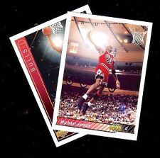 2 Card Lot Michael Jordan 1991 & 1992 Upper Deck #23 (J)