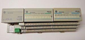 Allen Bradley FlexIO 1794-ASB Ser. E with 1794-IB16, 1794-OB16P modules