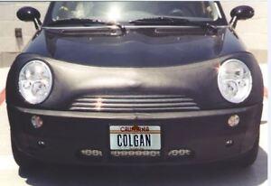 Colgan Front End Mask Bra 2pc.Fits Mini Cooper Base 2002-2006 W/License & Drive