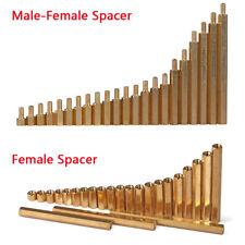 M3 M4 Brass Copper Male-Female Female-Female Hex Standoff Screw Spacer Pillar
