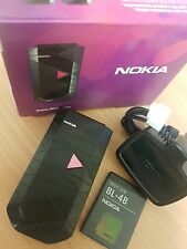 NOKIA 7070 PRISM SIM FREE GSM UNLOCKED  FLIP MOBILE PHONE PINK BLACK