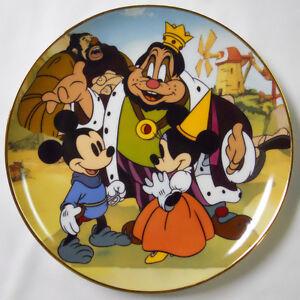1996 Disney Disneyana Convention Limited Edition Plate-Brave Little Tailor