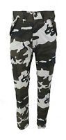 MENS  ARMY CARGO URBAN COMBAT MILITARY TROUSERS CAMOUFLAGE PANTS CASUAL UK 30-44