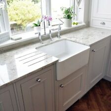 English Butler Farmhouse Fireclay Sink Kitchen Laundry White Gloss Brand New