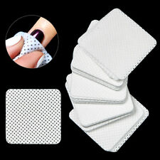 100x Lint Free Nail Art Wipes Cotton Pads Polish Remover Cleaner Manicure Paper
