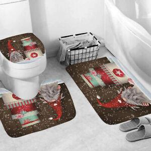 Toilets Mat Bath Mats Bathroom Rugs Set Party Home Decor U-Shaped Contour Mat SG