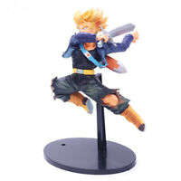 Dragon Ball Z Super Saiyan Trunks 8.26inch PVC Action Figure Statue Gift Toy