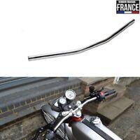 """guidon plat drag bar chrome moto Bobber Chopper old skool handelbar 22 mm 7/8"""""""