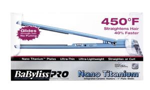 "BaByliss Pro Nano Titanium 1"" Ultra Thin Flat Iron"