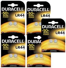 GENUINE 10X DURACELL LR44 1.5V ALKALINE BUTTON CELL BATTERIES LR 44 A76 HEXBUG