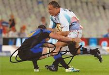 VODACOM FREE STATE CHEETAHS RUGBY: COENIE OOSTHUIZEN SIGNED 6x4 ACTION PHOTO+COA