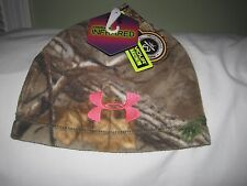 Under Armour Women's Camo Realtree Cold Gear Infrared Beanie NWT
