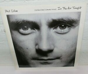 """12"""" - Phil COLLINS (GENESIS) - IN THE AIR TONIGHT (88 REMIX & Extended) UK Press"""