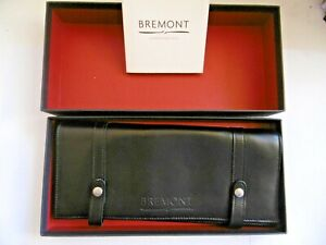 LOVELY BREMONT CHRONOMETERS LUXURY LEATHER WATCH TRAVEL CASE