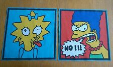 Simpsons Tela ~ Maggie & Marge ~ Apliques De Retazos recortes #4