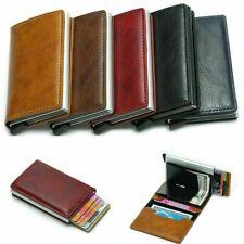 Kreditkartenetui RFID Schutz Mini Geldbörse Portemonnaie für Karten Herren/Damen
