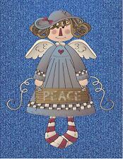 METAL MAGNET Country Angel Peace Denim Religion Religious MAGNET