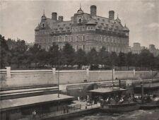 New Scotland Yard. London 1896 old antique vintage print picture