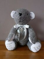 handmade memory bears with patch memories forever in our hearts