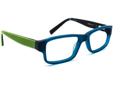 Nike Eyeglasses 5529 300 Matte Blue Green Rectangular Frame 48[]16 130 Small