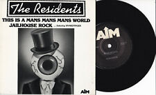 "The Residents ‎-This Is A Mans Mans Mans World- 7"" 45 Australia 1986 near mint"