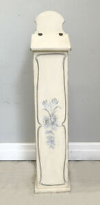 OLD FRENCH BAGUETTE BOX - HAND PAINTED