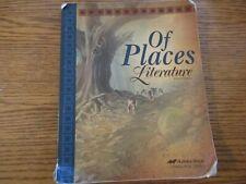 ABeka 8th grade Of Places (4th ed)