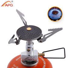 Outdoor Camping Propane Stove Gas Burner Mini Anti-scald Portable Gas Cooker APG