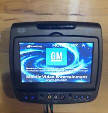 Invision GM DVD Headrest Monitor A Factory OEM SHMD-0701-AX Cadillac