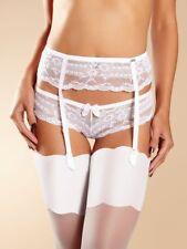 c7c5c84cece CHANTELLE Idole porte jarretelle garter belt cincher wedding T U   Sz U  white