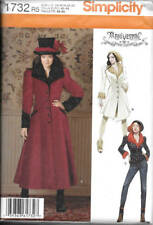 Steampunk Coat, Jacket Sewing Pattern Simplicity 1732 Haunt Couture Arkivestry