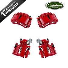 Front And Rear Red Calipers For 1999 2000 2001 2002 Ford Mustang Base SN95