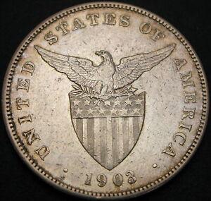 PHILIPPINES 1 Peso 1903S - Silver - VF/XF - 1204 ¤