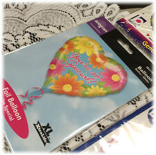 Anagram Large Mylar Heart Balloon You're So Special Self Sealing Balloon NIP