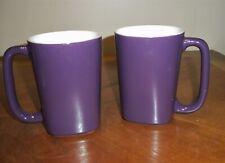 Set 2 Rachel Ray Coffee Mugs Raspberry Color