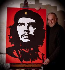 Che Guevara Canvas print. Viva Che 1968. From Jim FitzPatrick